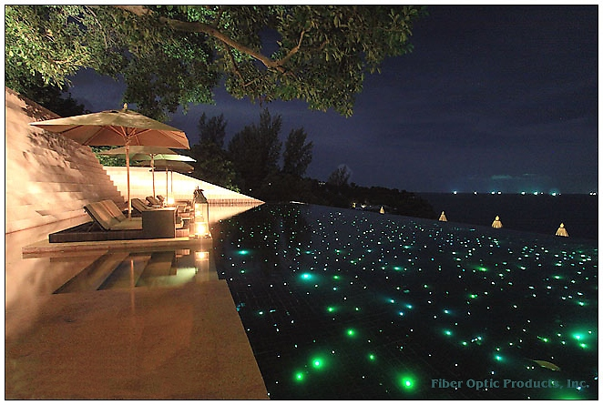 Fiber Optic Pool Lighting